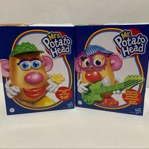 Mr Potato Head and Mrs Potato Head Collectible